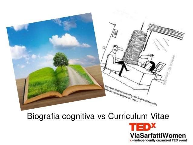 Biografia cognitiva vs Curriculum Vitae