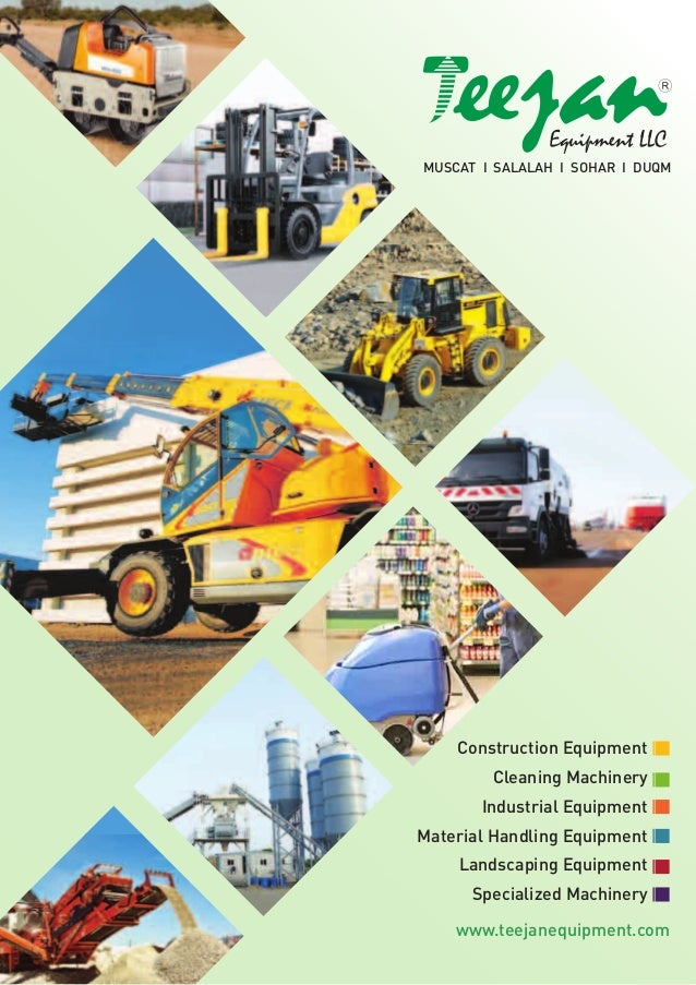 Teejan equipment llc pdf