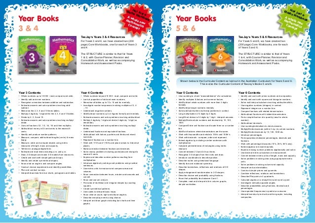 Teejay Maths Book Content Summary – Tj Maths Worksheets