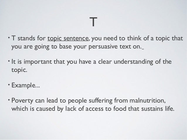 teel essay structure step 1 choose a topic 4