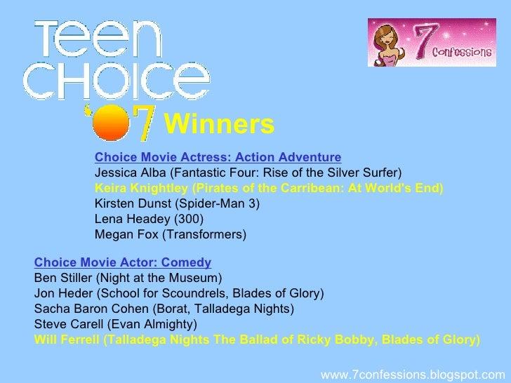 2018 teen choice awards nominees and winners - photo #35