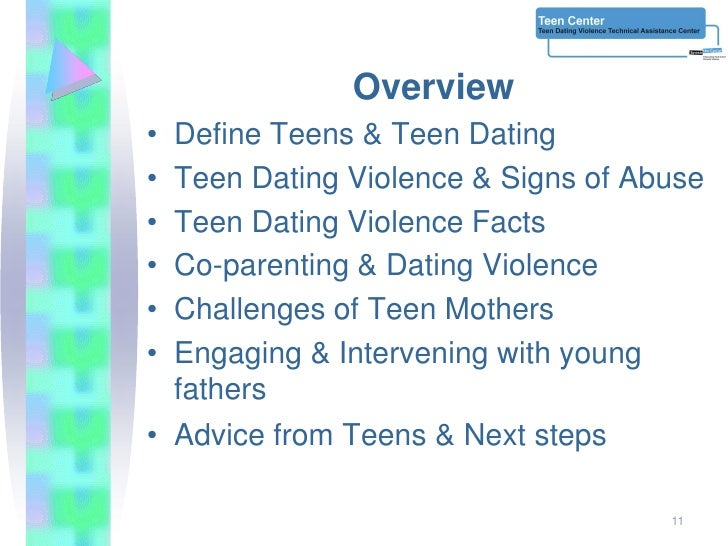 Advice about teenage dating