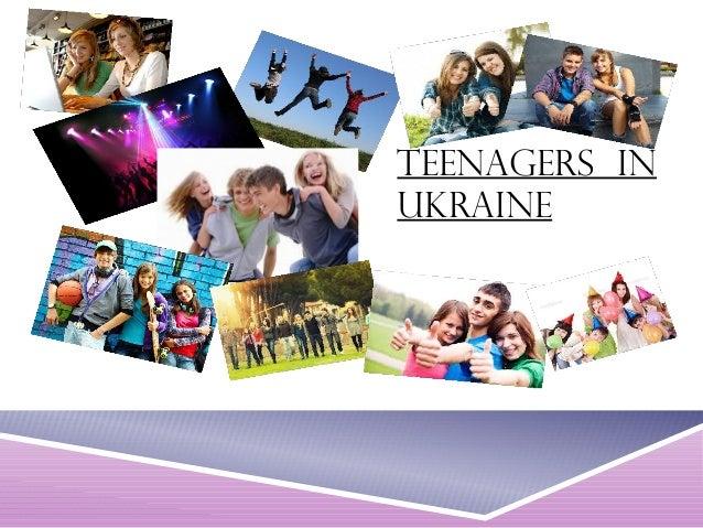 Teenagers in  Ukraine
