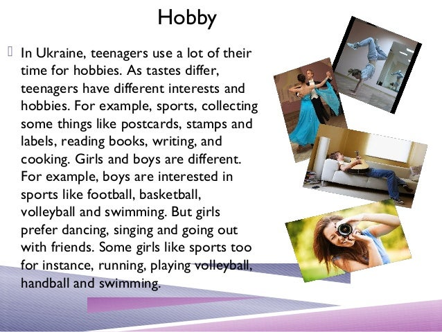 essay about my hobbies and interests This topic is very wide open you could choose to write about an extracurricular activity, job, hobby, or just about anything that involves a high level of interest and dedication.
