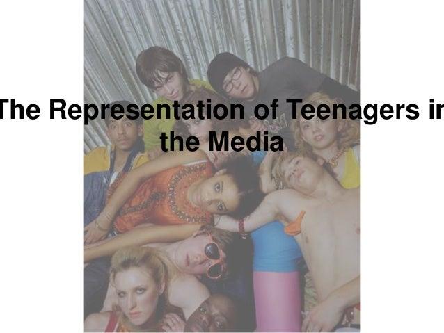How the media portrays teens