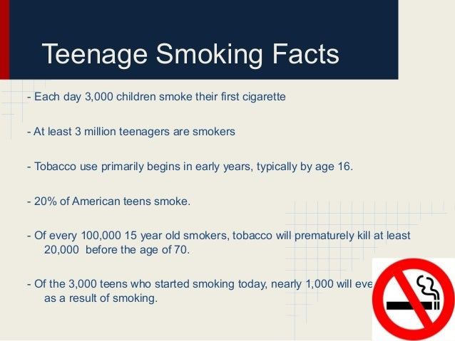 teenage smoking teenage
