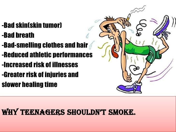 the effects of teenage smoking Marijuana may hurt the developing teen brain evidence on marijuana's health effects is she says more teens and young adults are smoking marijuana.
