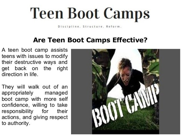 Teen Boot Camp For 119