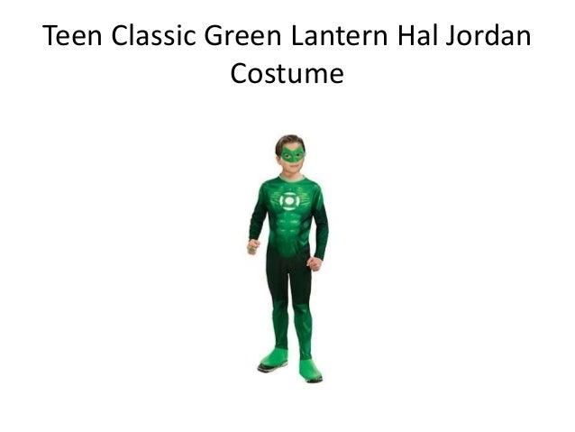 teen classic green lantern hal jordan costume