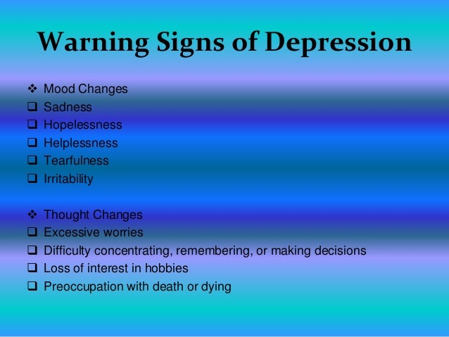 teen depression3 warning signs of depression