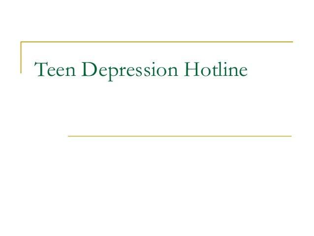 Teen Advice Hotlines 2