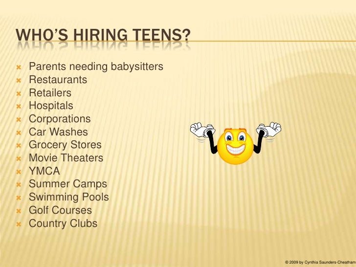 Search for teen jobs — pic 11