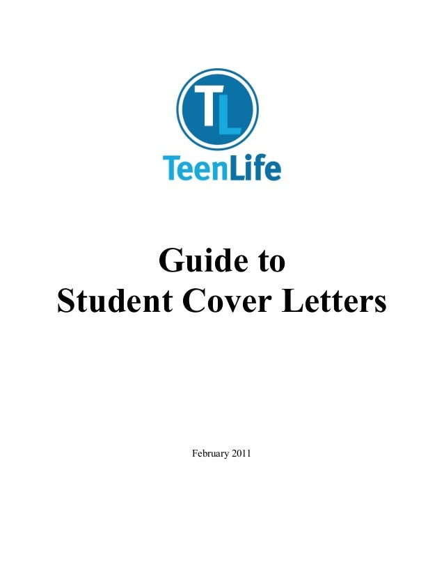 Guide to    Student Cover Let...