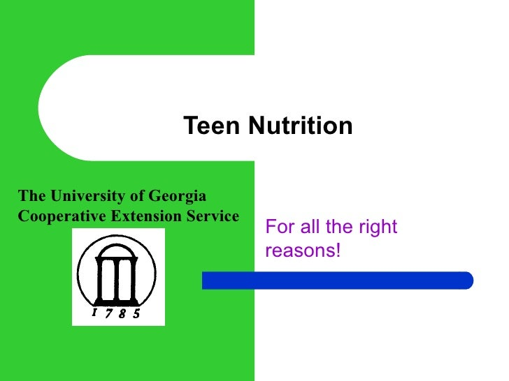 teen nutrition Many teenagers struggle with nutrition what is a healthy body mass how much water should i be drinking what do these nutrition labels mean does what i eat impact my sports performance.