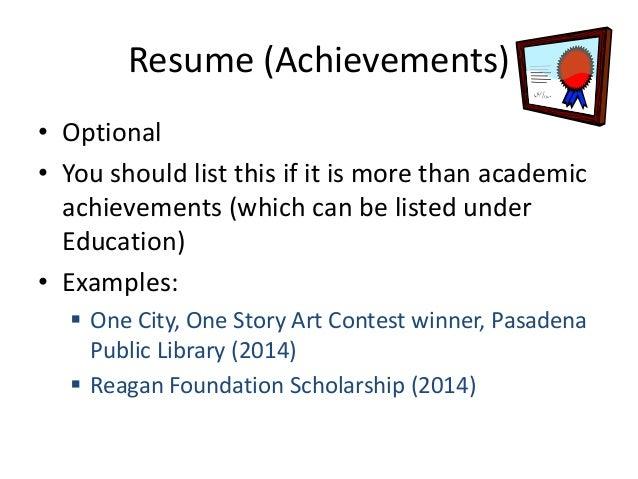 Teen resume workshop (Pasadena Public Library)