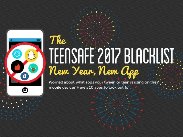 Worried about what apps your tween or teen is using on their mobile device? Here's 10 apps to look out for. New Year, New ...