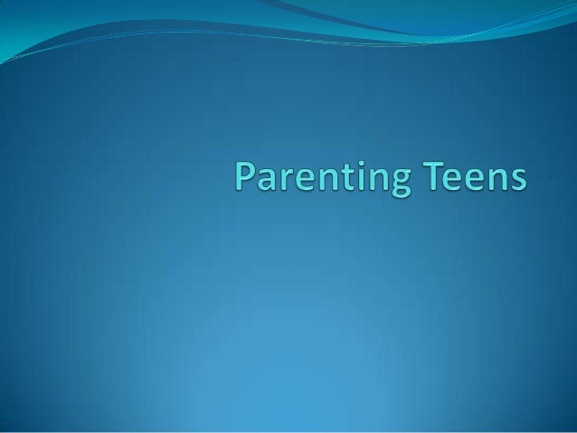 Parent-Teen Relationships By virtue of being a parent, you seem to have the duty to worry. And if your child has hit puber...