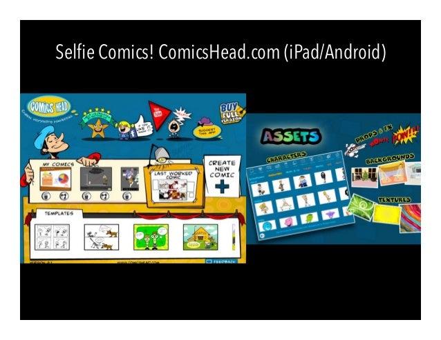 Selfie Comics! ComicsHead.com (iPad/Android)