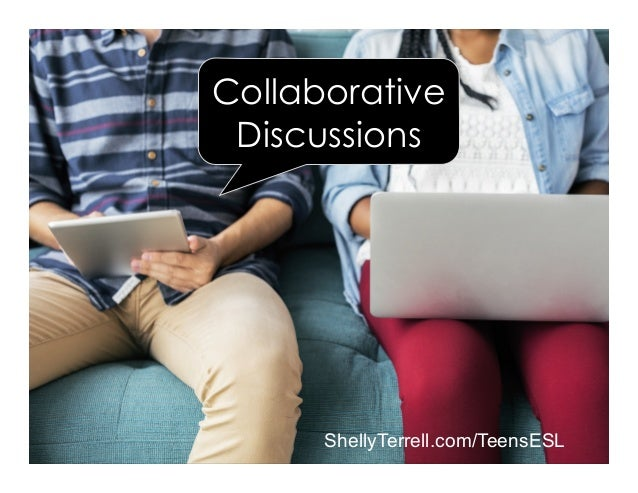 ShellyTerrell.com/TeensESL Collaborative Discussions
