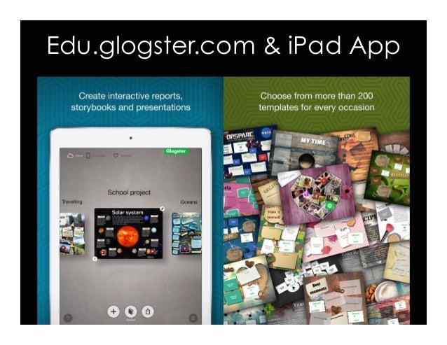 Edu.glogster.com & iPad App