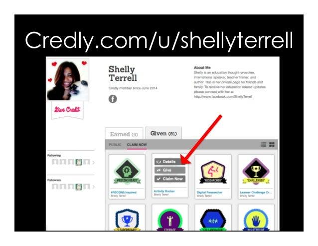 Credly.com/u/shellyterrell