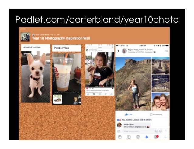 Padlet.com/carterbland/year10photo