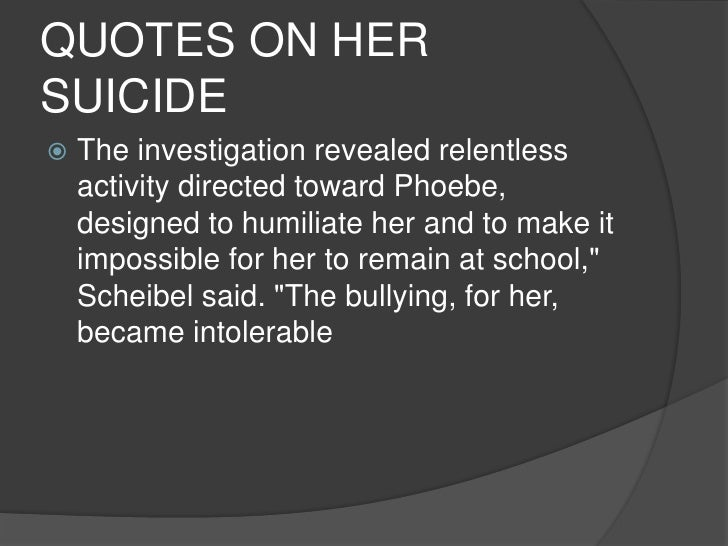 Suicide Quotes For Teen Girls: Teen Suicide