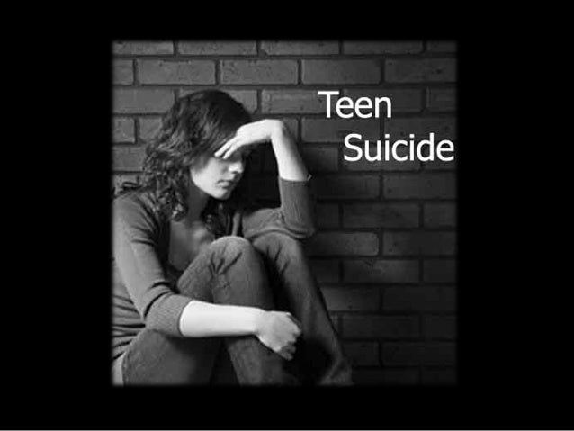 the problems of teenage drinking and driving and teen suicide