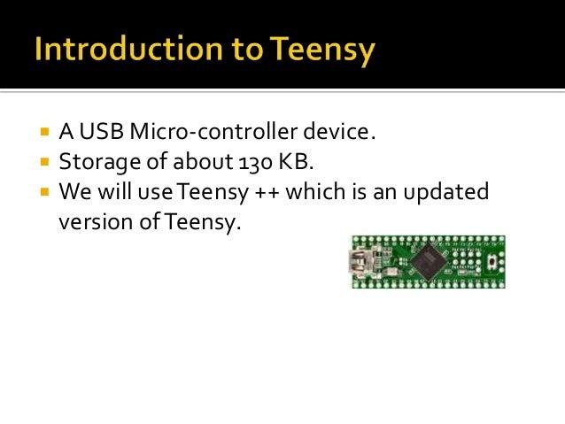  Install Arduino Windows Serial Installer (only Windows) Install Teensyduino Copy Teensy loader executable in Arduino ...