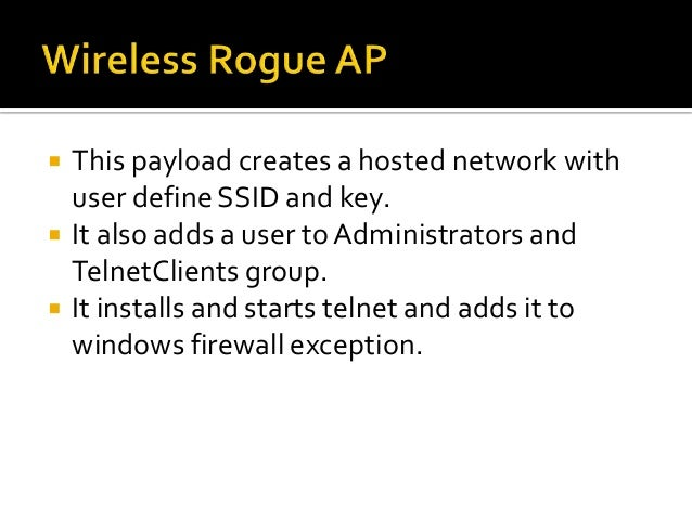    We were doing internal PT for a large media    house.   The access to network was quite restrictive.   The desktops ...