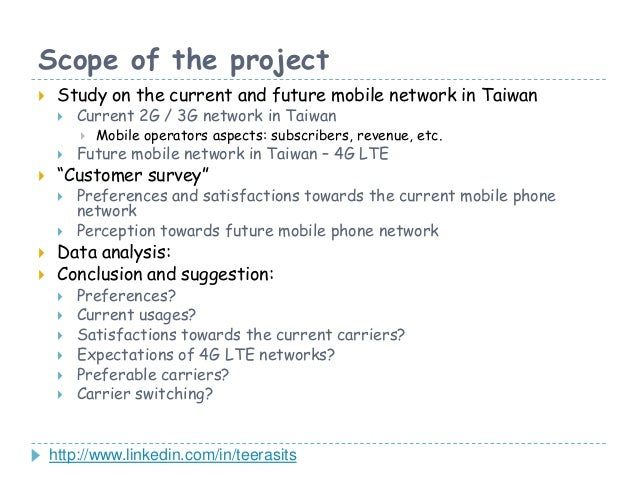 Critical Success Factors for 4G LTE Launching in Taiwan