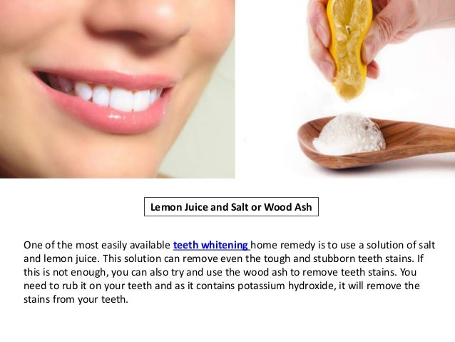 Natural Ways To Whiten Your Teeth In Just 2 Minutes