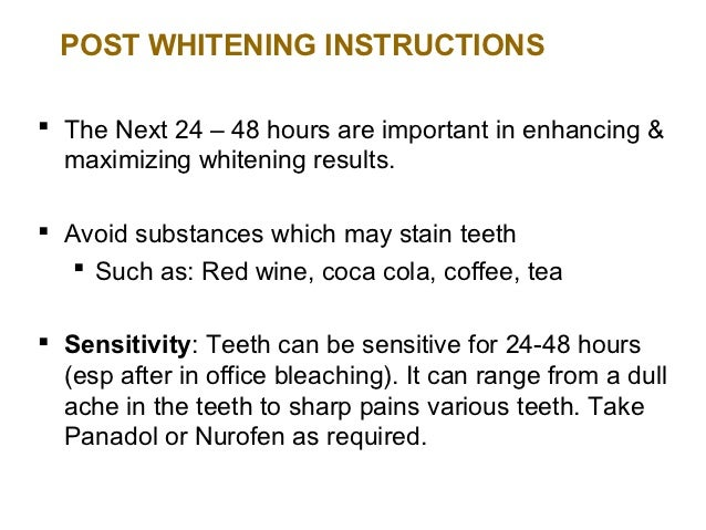 Teeth Whitening Lecture1