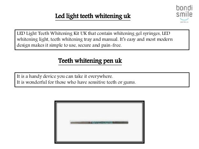 Looking For The Best Teeth Whitening Products Uk To Make Your Teeth L