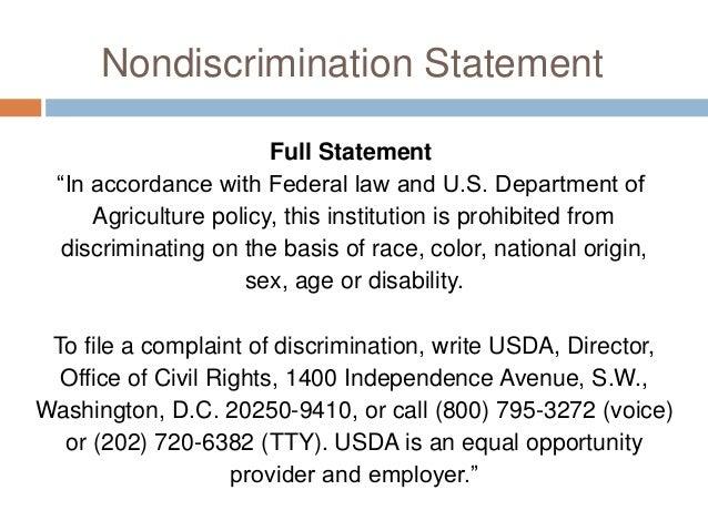 Aca nondiscrimination rules.