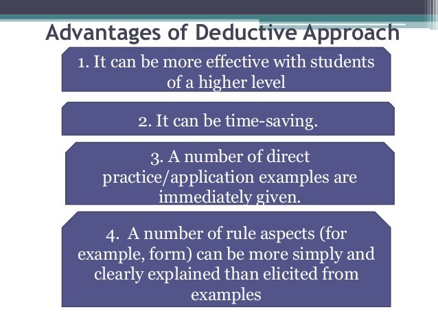 What is deductive research approach