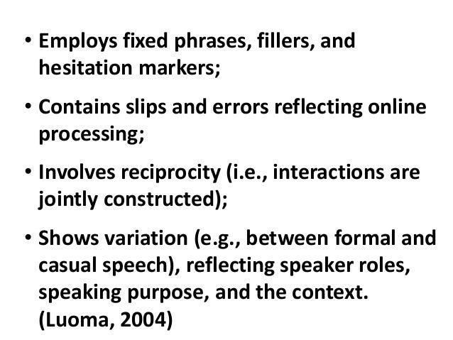 the principles of teaching speaking