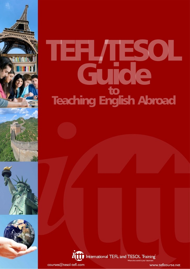 TEFL/TESOL  Guide     to  Teaching English Abroad                                                                         ...