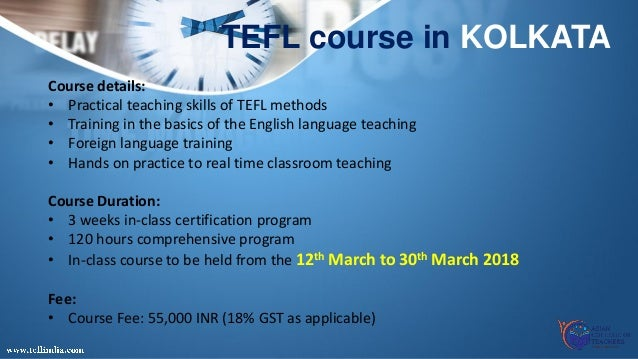 reach beyond boundaries - join tefl certificate course in india