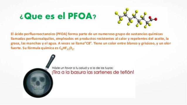 Teflon y cancer for Formula quimica del aceite de cocina