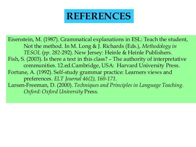 Teaching approaches: the grammar-translation method