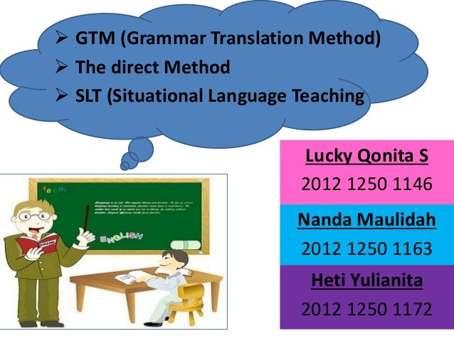 situational language teaching Communicative language teaching meaningful learning  the oral- situational approach, dominating in britain in the middle of the last.