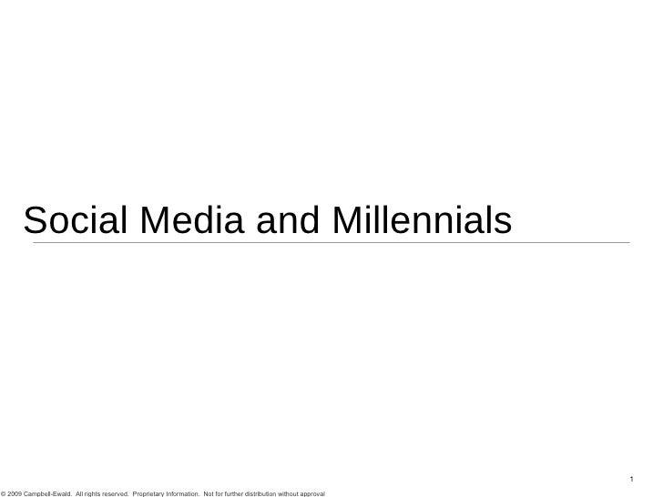 Social Media and Millennials