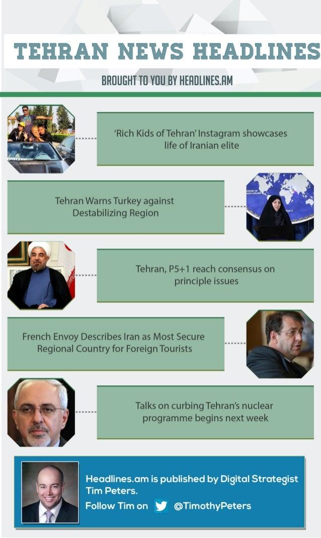 TEHRAN NEWS - OCTOBER 9, 2014