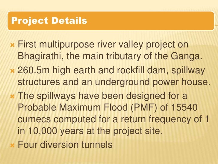 Essay - River Valley Projects in India