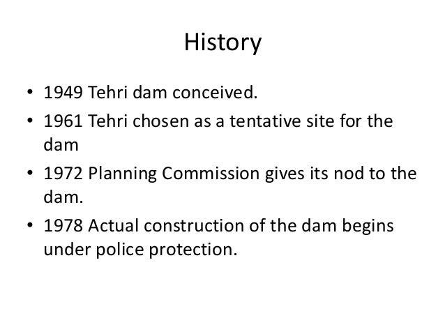 Tehri dam ppt.