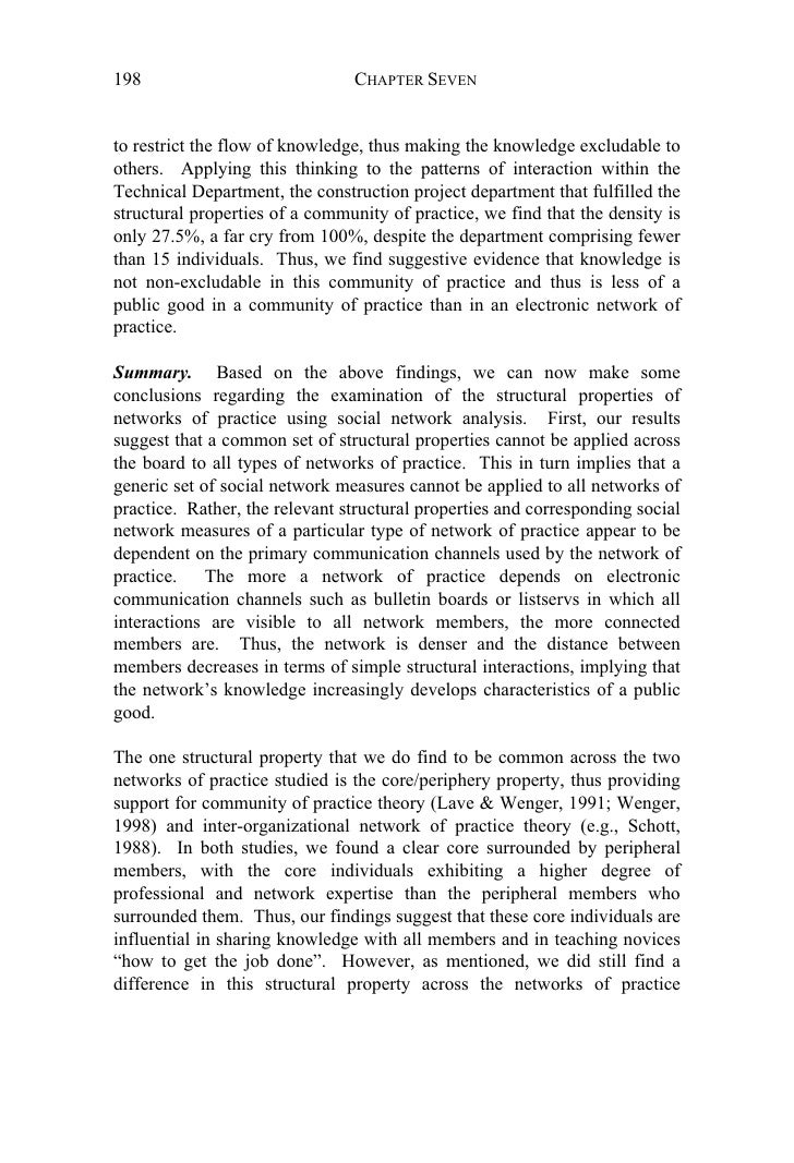 Teigland thesis knowledge networking