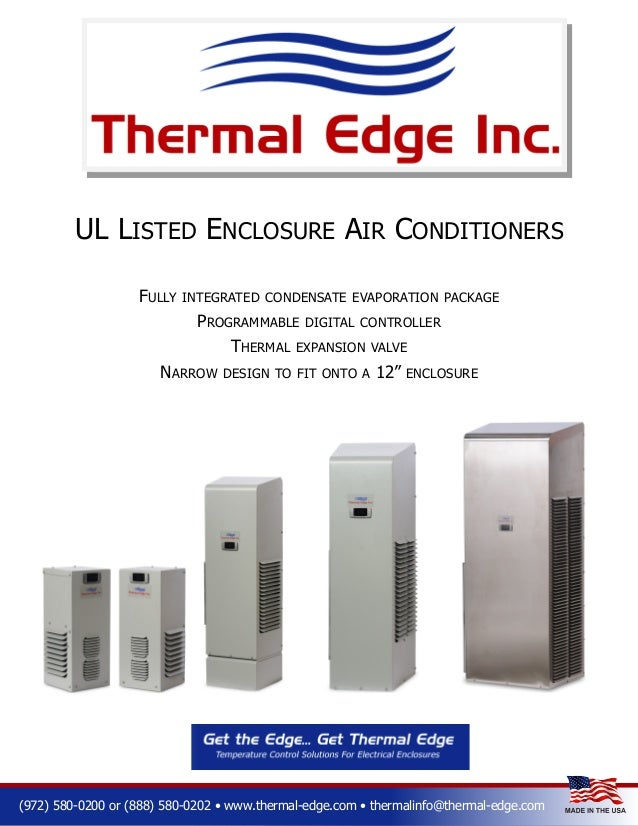 UL LISTED ENCLOSURE AIR CONDITIONERS FULLY INTEGRATED CONDENSATE EVAPORATION PACKAGE PROGRAMMABLE DIGITAL CONTROLLER THERM...