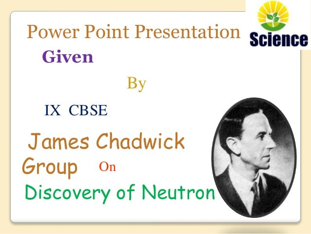 James Chadwick  Biographical  NobelPrizeorg