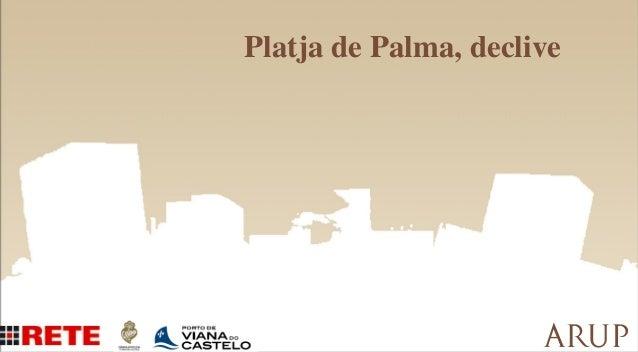 Platja de Palma, declive